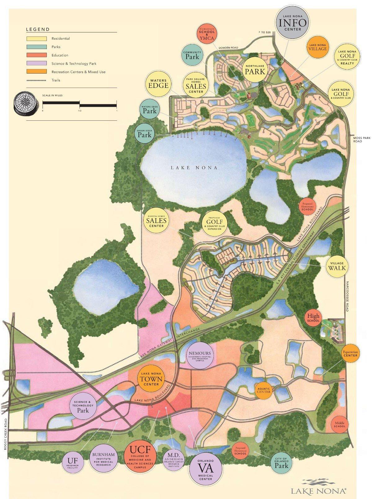 Lake Nona Community Orlando Fl Orlando New Home Experts