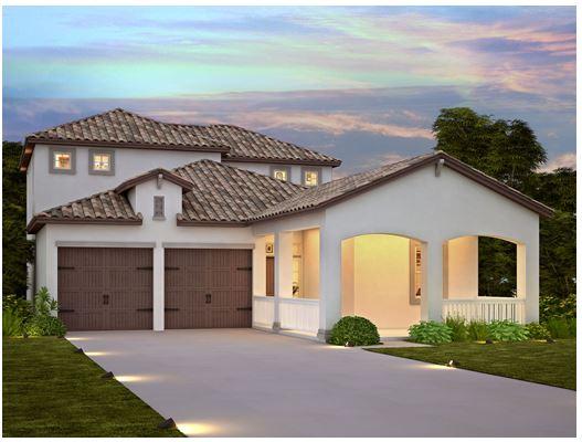 Watermark Winter Garden, FL Meritage Homes Barrett Floorplan Purchase Price $401,500 4 Bedroom 3 ½ Bath 2,650 sq/ft